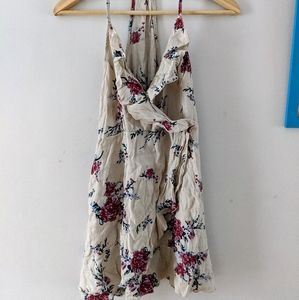One size floral dress
